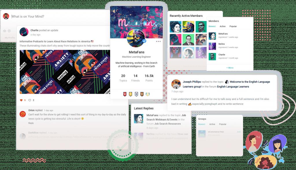 community wordpress theme